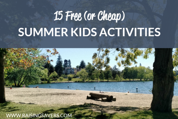 Free Summer Kids Activities