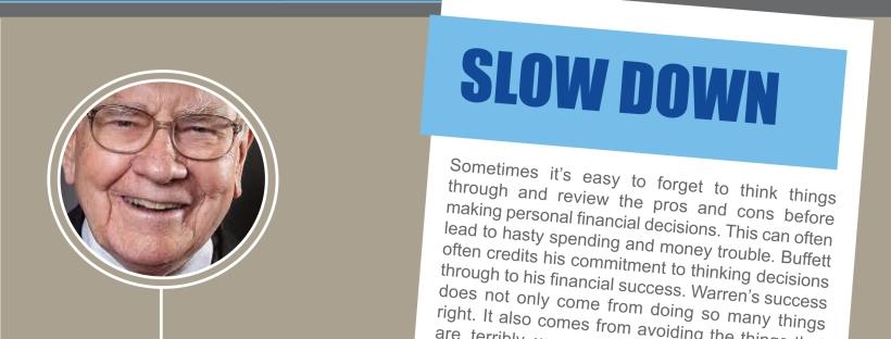 Infographic - Money Tips from Warren Buffett