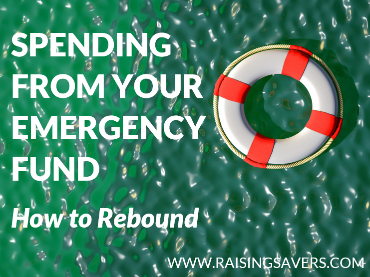 Spending from Your Emergency Fund? How to Rebound