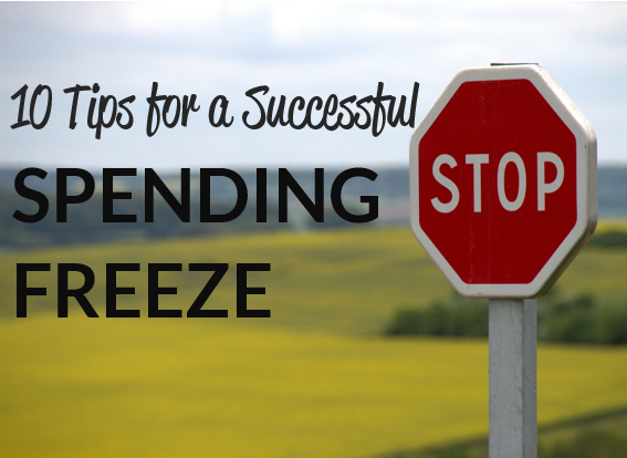 Spending Freeze - 10 Tips to Make it Succesful